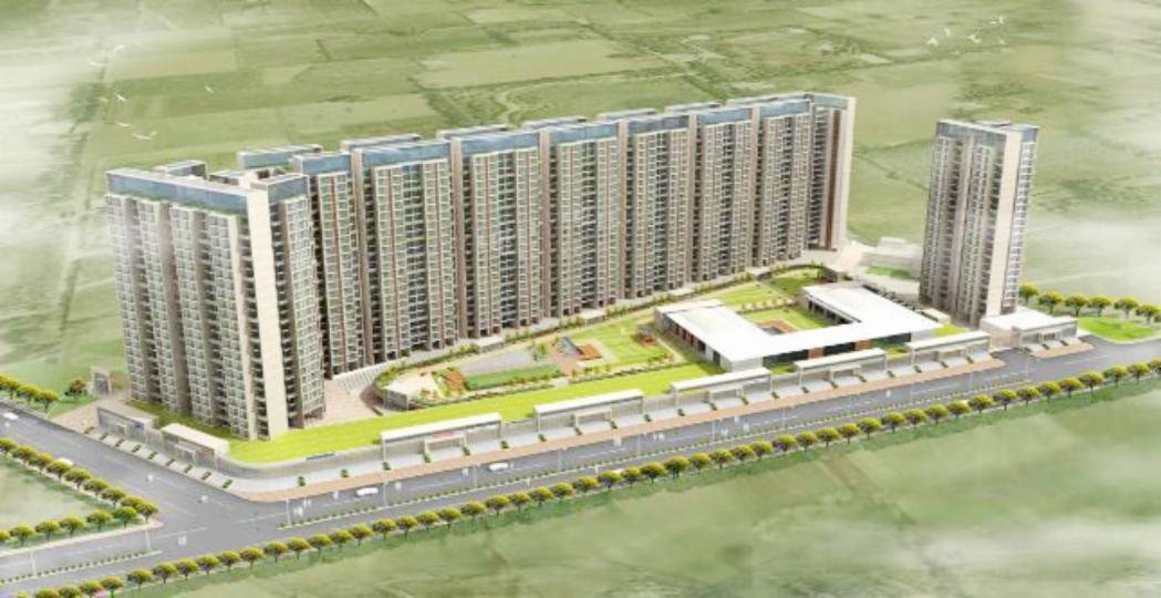 Akshar Green World Airoli Without Brokerage Unfurnished 2 Bhk Flat